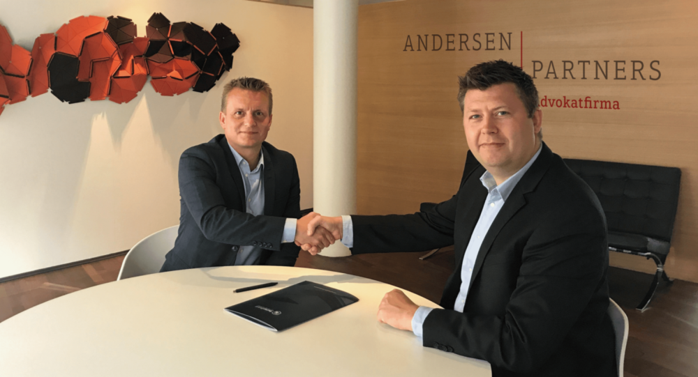 Andersen Partners tilbyder alle BetterBoard's brugere gratis advokathjælp